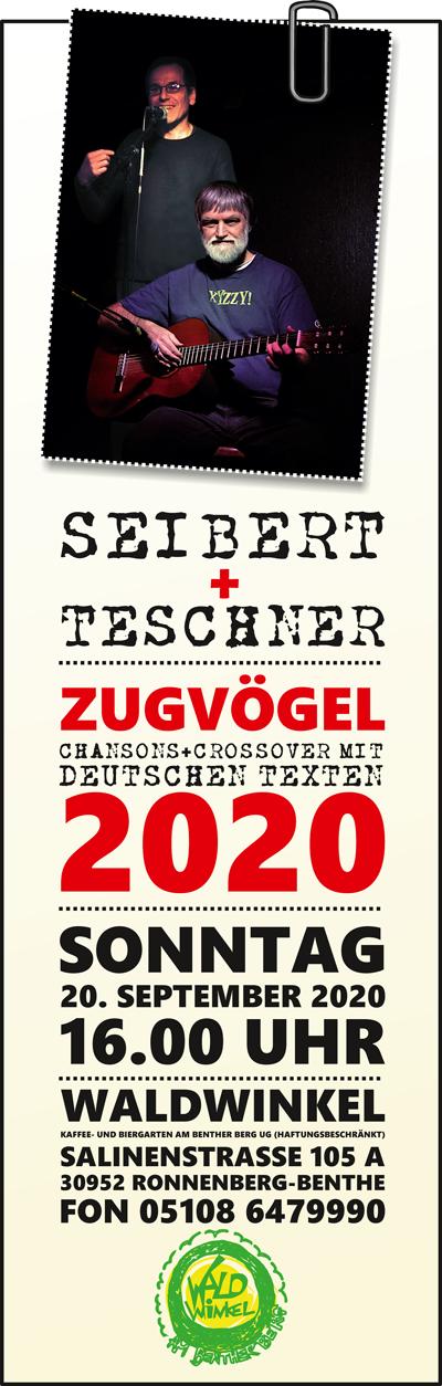 SEIBERT+TESCHNER – Zugvögel 2020
